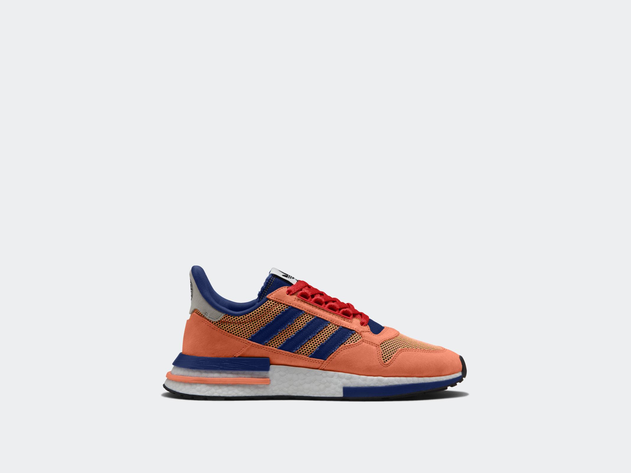 cheap for discount 43319 c51b1 Adidas rinde homenaje a Dragon Ball Z con extravagante calzado ...